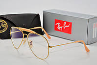 Имиджевые  очки  RB 3029  золото