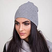 Женская вязанная шапка на весну 2017 оптом - Артикул 2065