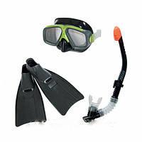 Набор для плаванья ласты маска трубка
