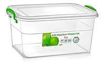 Пластиковый пищевой контейнер 5.0 литра