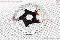 Тормозной диск 160 мм  под 6 болтов  на алюминиевом пауке SM-RT76 SHIMANO