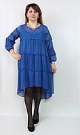 Платье-двойка Stella (Турция) 52-60р большого размера