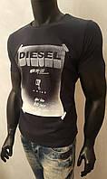 Футболка мужская однотонная Diesel