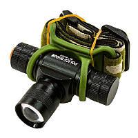 Налобный аккумуляторный фонарик Police BL-6660 оригинал