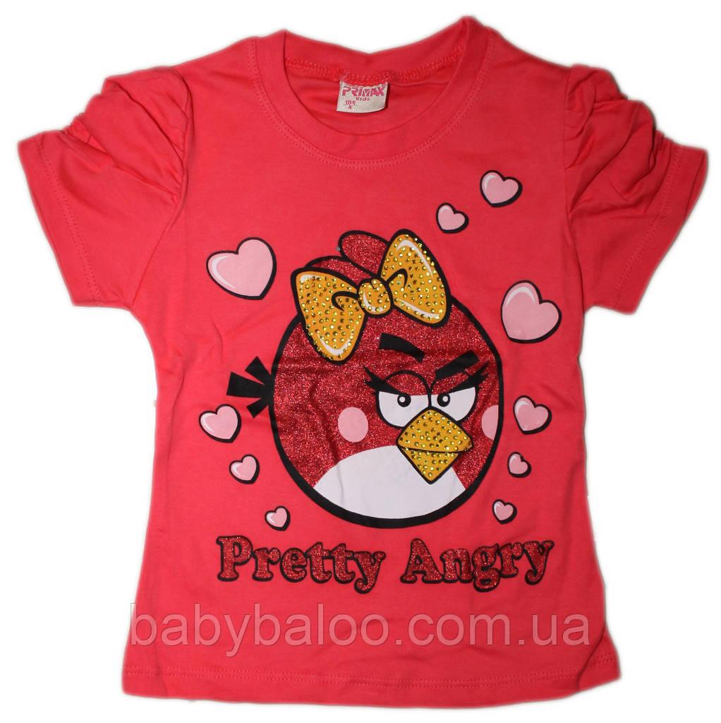 Футболка детская Angry Birds (рост от 104 см до 128см)