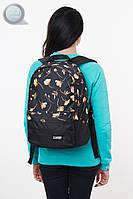 Рюкзак (с отделением для ноутбука 15.6″) Urban Planet - B2 Jenny (чёрный \ оранжевый)