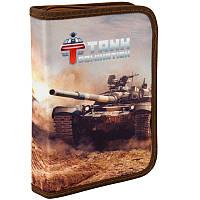 "Пенал - книжка ""Tanks Domination"" TD17-621, ТМ ""Kite"""