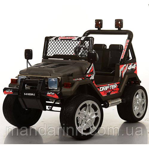 Детский электромобиль Джип Bambi Джип S-618EBR-2