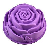 Форма для выпечки силиконовая Роза Большая