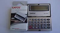 Карманный калькулятор Eates RC-200А,12 разрядный,металическая панель. Универсальный калькулятор карманный 12ти