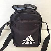 Сумка спортивная мужская Adidas / черная
