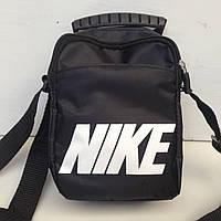 Сумка спортивная мужская Nike / черная