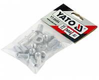Заклёпки алюминиевые Yato m6 /20 шт