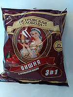 Кофейный напиток Петровская Слобода 3в1 Вишня 25 пакетиков