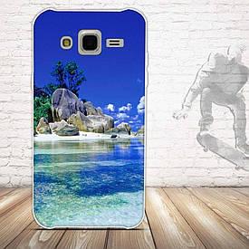 Чохол для Samsung Galaxy J5 J500h з картинкою острів