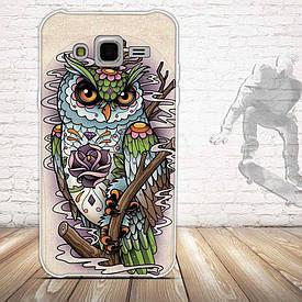 Чохол для Samsung Galaxy J5 J500h з картинкою сова грізна