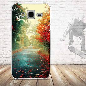 Чохол для Samsung Galaxy J5 J500h з картинкою осіння дорога