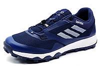 Кроссовки Adidas Terrex мужские, текстиль, темно-синие, р. 41 42 43 44 45