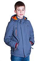 Демисезонная куртка (подростковая) Black Wolf. Цвет серый. Код 180