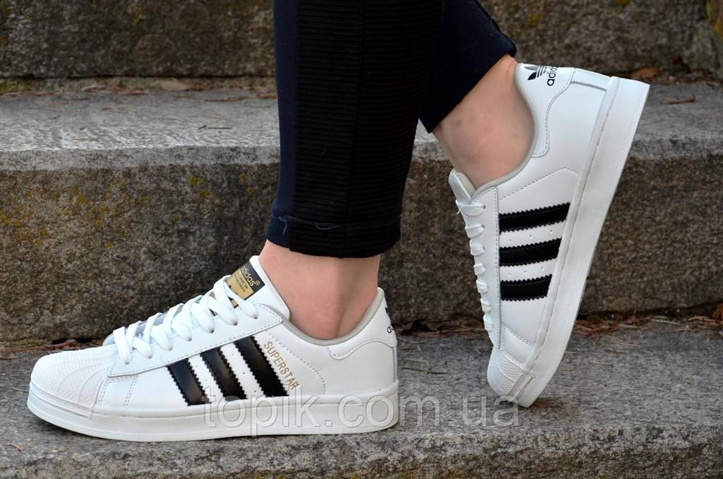 Женские белые кроссовки кеды стильные кожаные вставки прошитая подошва (Код: 475)