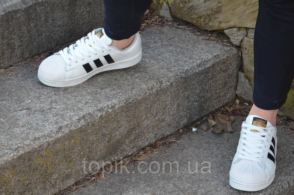 Кеды кроссовки женские подростковые белые (Код  475а)  купить в ... 9b0e57b89bb