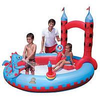 Игровой центр-бассейн Замок Дракона Bestway 53037