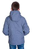 Підліткова демісезонна куртка, світло-сірого кольору., фото 2