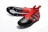 Бутсы Adidas Ace 16+ Purecontrol red/black, фото 2