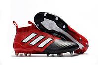 Бутсы Adidas Ace 16+ Purecontrol red/black