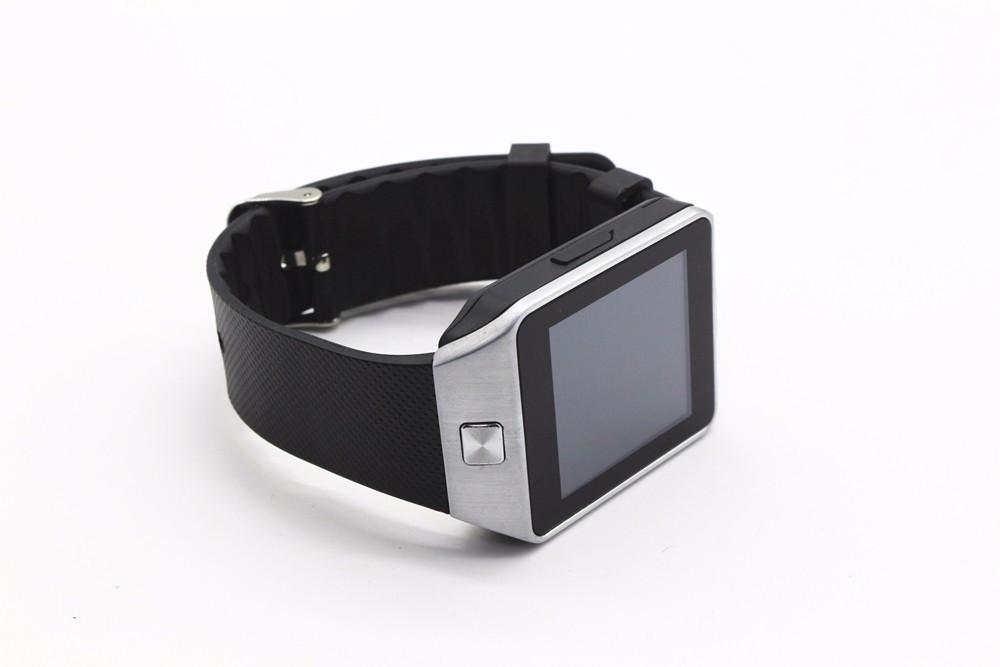Умные часы DZ09 Smart Watch со слотом сим и micro SD c меню на русском языке в коробке черные