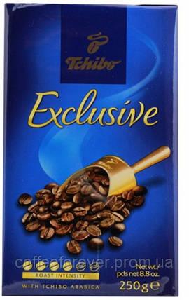Кофе молотый Tchibo Exclusive250г , фото 2