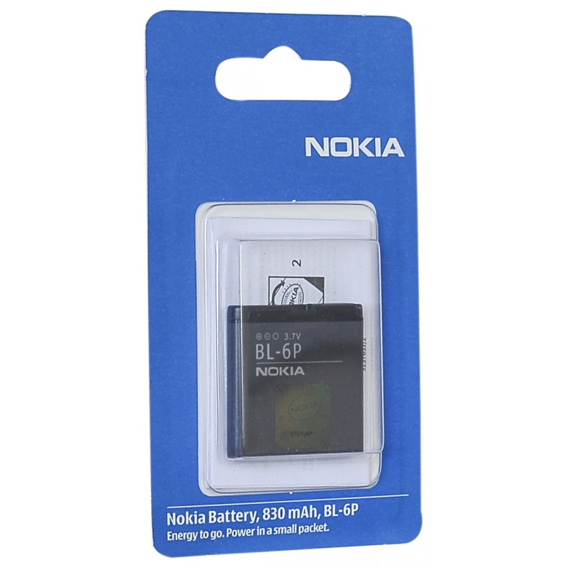 Аккумулятор Nokia BL-6P 830 mAh 6500, 7900