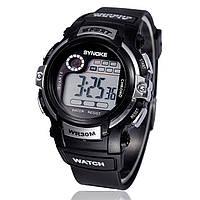 "Мужские спортивные цифровые наручные часы ""Synoke"" серые"