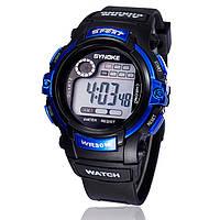 """Мужские спортивные цифровые наручные часы """"Synoke"""" cиние"""