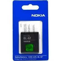 Аккумулятор Nokia BL-6F Li-Ion, 1200 mAh