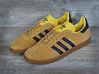 Мужские кроссовки Adidas Gazelle Yellow