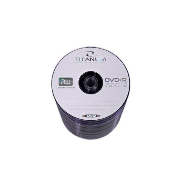 Диск Titanum 4.7Gb - 8x (bulk 50) DVD+R