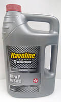 Масло моторное TEXACO HAVOLINE ULTRA V 5W30 5л
