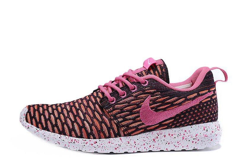 3610c04b Женские кроссовки Nike Roshe Run Flyknit London Pink - Обувь и одежда с  доставкой по Украине