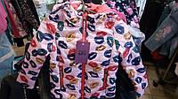 Куртка весенняя для девочки 86-104
