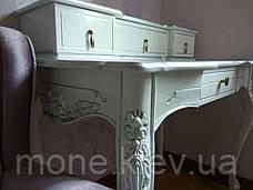 Туалетные столик в спальню №8 из массива в классическом стиле, фото 3
