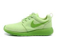 Женские кроссовки Nike Roshe Run II Lime Green, фото 1