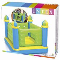 Надувной игровой центр батут Intex 48257 замок