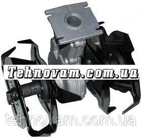 Насадка мотокосы культиватор 7T Диаметр 26 мм
