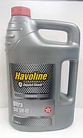 TEXACO HAVOLINE ULTRA 5W40 4л