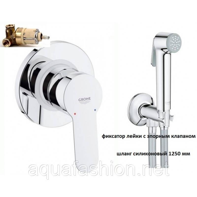 Гигиенический душ скрытого монтажа Grohe BauEdge 28343003