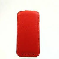 Чехол книжка для телефона HTC One M 8 красный, защитный чехол для смартфона.