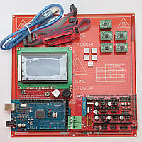 Набор электроники для 3D принтера (MK2 / 128х64 / CH340 / A4988)