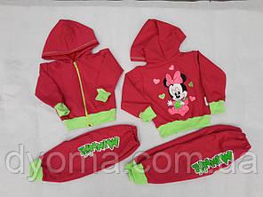 """Детский трикотажный костюм """"L. O. L."""" для девочек (двунитка), фото 2"""