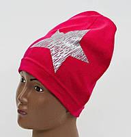 Детская шапка со звездой